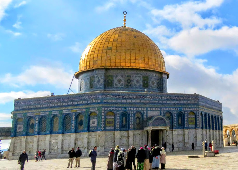 岩のドーム / Dome of the rock